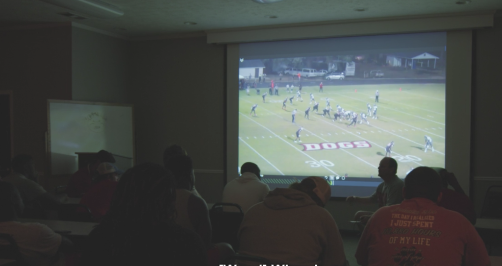 Team Meeting Youth Player Video Analysis Development
