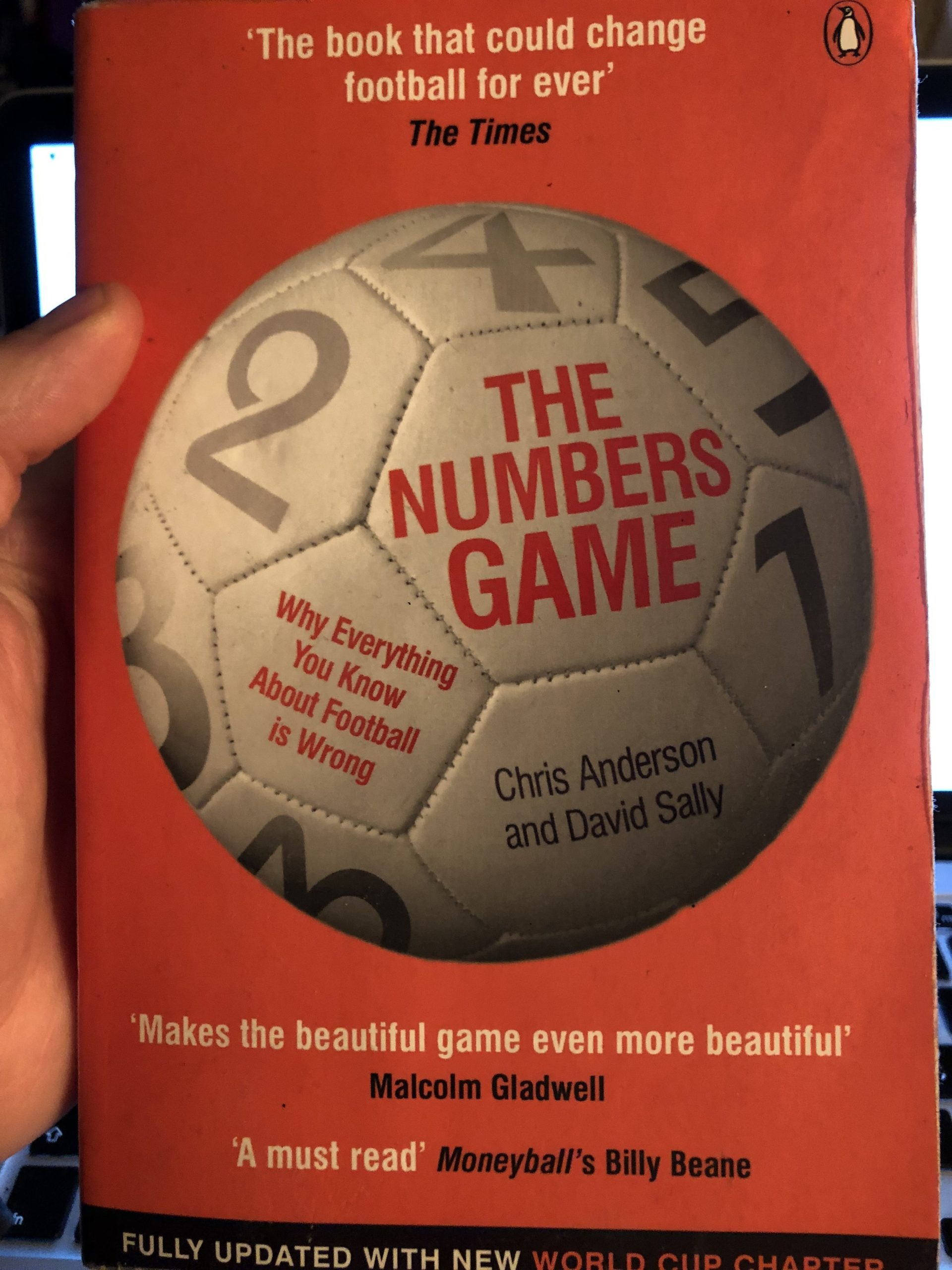 Book Review – The Numbers Game: Why Everything You Know About Football is Wrong