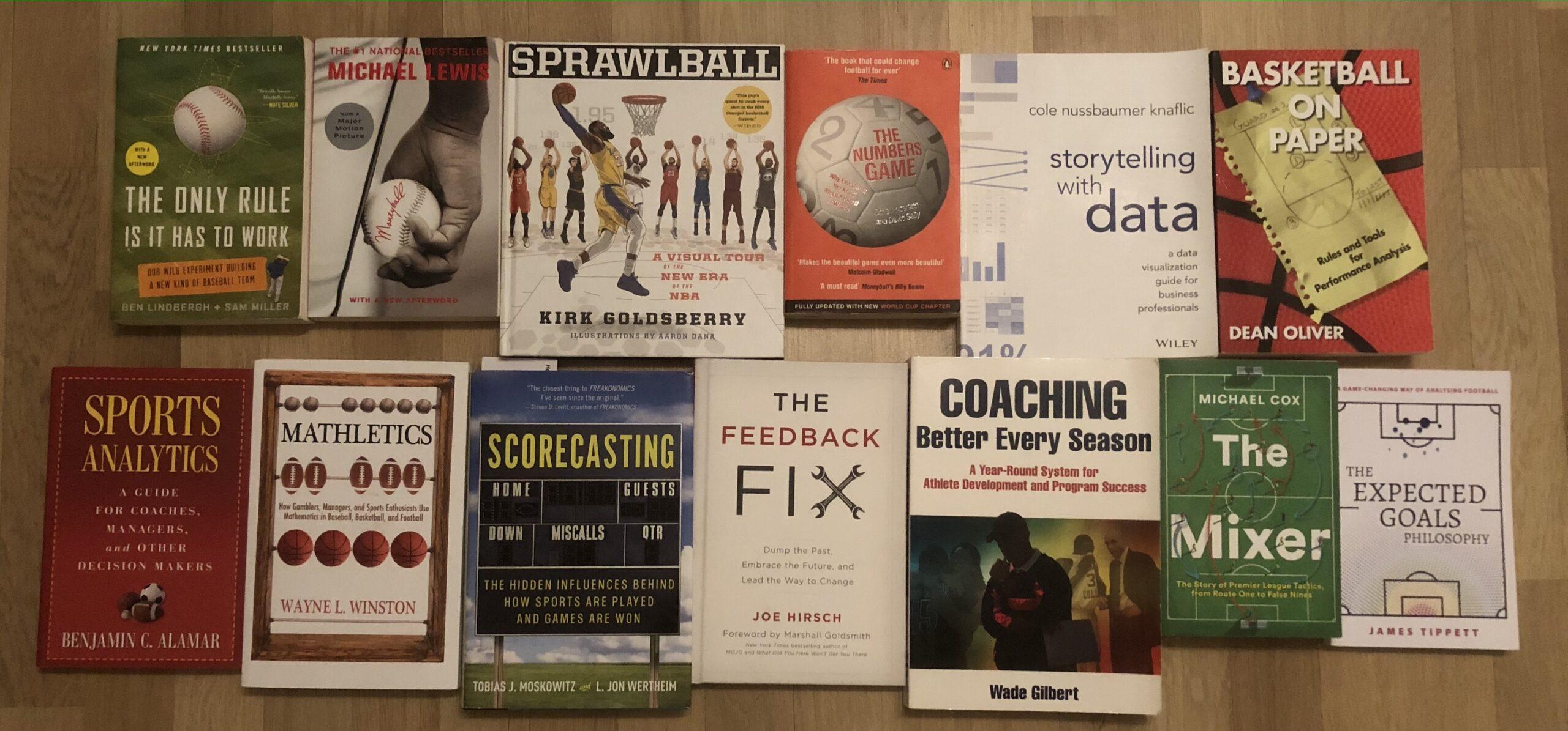 5 Best Sports Analysis Books