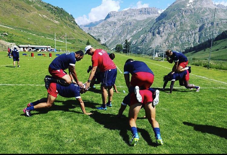 Dewald Senekal coaching rugby analysis Grenoble