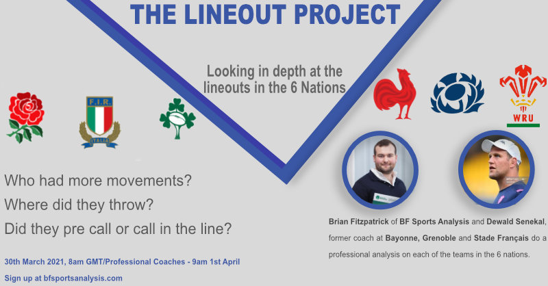 The Lineout Project with Dewald Senekal
