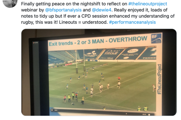 Rugby Lineout Webinar Review
