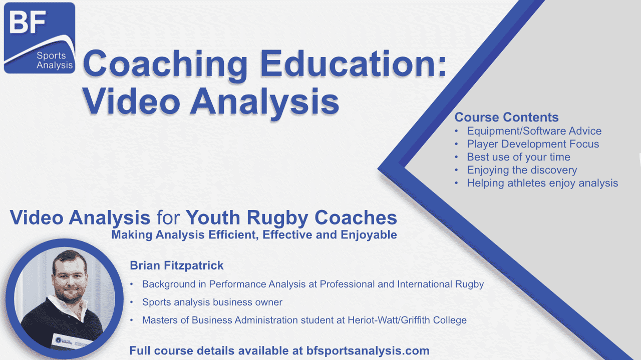 Video Analysis for Youth Rugby Coaches Workshop